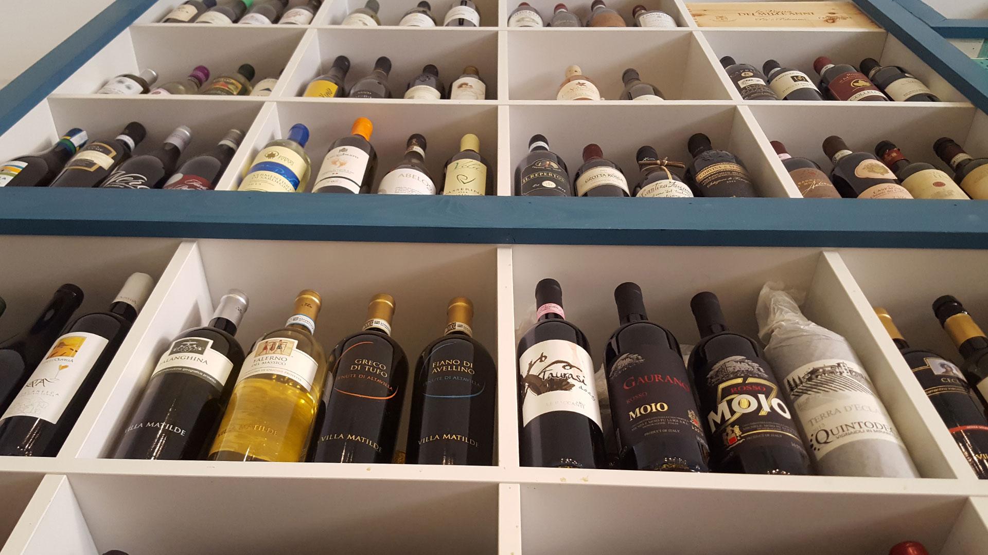 Cantina dei vini Bar Epomeo Ischia